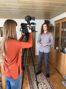 A.TV berichtet über David Hejazi